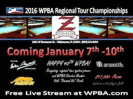 2016 WPBA Regional Tour Championship's Start Tomorrow (Jan.7)