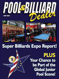 """Pool & Billiard Dealer"" FREE to Billiard Businesses"
