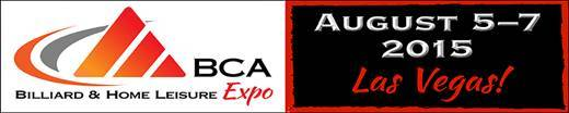 BCA's Billiard & Home Leisure Expo – Las Vegas in August