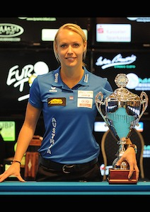 Jasmin Ouschan Wins Dynamic Billiard German Open