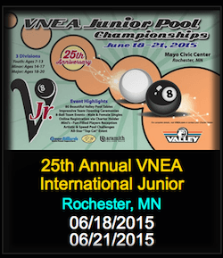 VNEA Celebrates 25th Anniversary World Junior Pool Championships