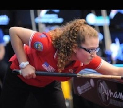 15 Year-Old APRIL LARSEN Garners Great Publicity for Pool!