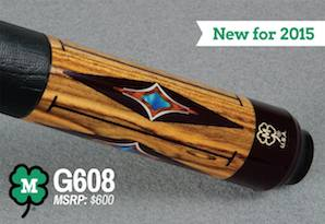 McDermott Cue Announces New 2015 Model #G608