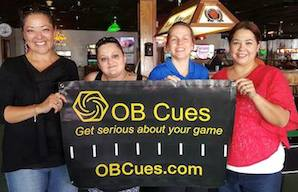 Terry Petrosino Scores Win on OB Cues Ladies 9-Ball Tour