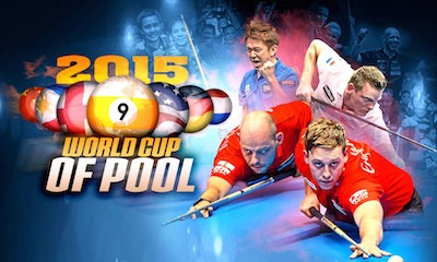 "Line Up for September's ""World Cup of Pool"""