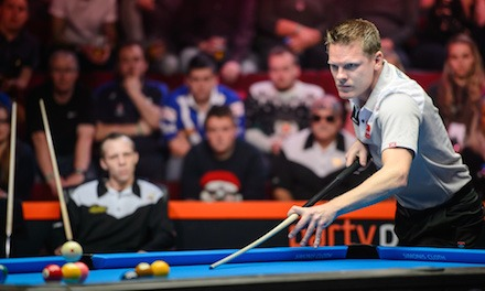 Niels Feijen Leads Team Europe Rankings for Mosconi Cup