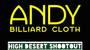 Andy Cloth High Desert Shootout – Sept. 25-27