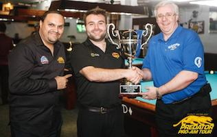 DeChaine Wins Gotham CIty Billiard Classic