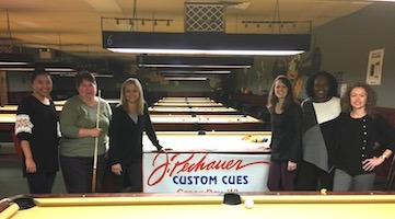 ProShot Billiards Hosts J. Pechauer Cues Tour Stop