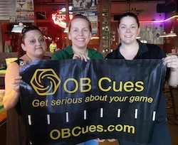 Williams Sets Record at OB Cues Ladies 9-Ball Tour