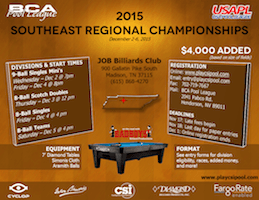 CSI Southeast Regional Pool Championships, Dec. 2-6