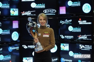 Czuprynska Takes Her First Women's Euro-Tour Title