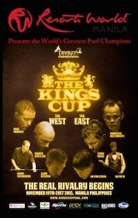 Greatest Pro Pool Teams Clash in Kings Cup, Nov. 19-21