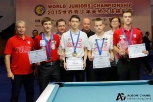 Pool's WPA Junior World 9-Ball Championships Under 17