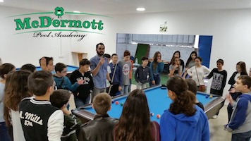 McDermott Pool Academy Opened in Israel