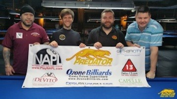 Dechaine Wins Empire State Championships, Raxx Pool Room Feb 20-21