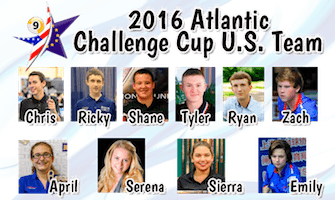 "Pool's 2016 Atlantic Challenge Cup ""USA Team"""