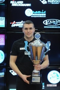 Fortunski Wins Pool Title at Dynamic Billard Italian Open