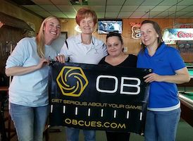 OB Cues Ladies Tour Starts 2016 Pool Season with Record Attendance