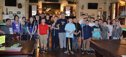 Jiang & Fracasso-Verner, Massachusetts Jr. State 9-Ball Champs