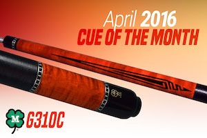 McDermott's Free Pool Cue Giveaway for April