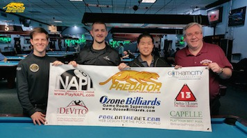 Astashen's 1st Victory on Pool's Predator Pro/Am Tour