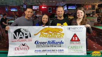 Brooke Meyer Gets Second Predator Pro/Am Tour Pool Victory