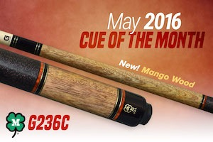 McDermott Free Cue Giveaway for May 2016