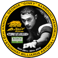 Pool's Ginky Memorial this weekend at Steinway Billiards