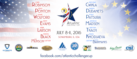 Pool's Atlantic Challenge Cup, July 8-11 – Free Live Stream