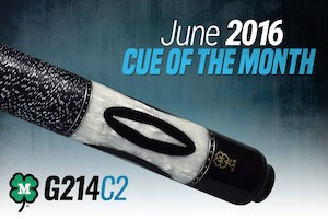 McDermott's Free Pool Cue Giveaway for June 2016