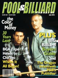 Read July 2016 Pool & Billiard Magazine FREE Right Now!