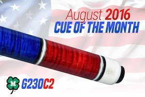 McDermott's Pool Cue Giveaway for August 2016