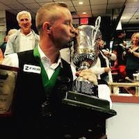 Mika Immonen Wins pool's World Tournament of 14.1