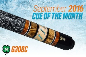 McDermott's Pool Cue of the Month Giveaway for September 2016