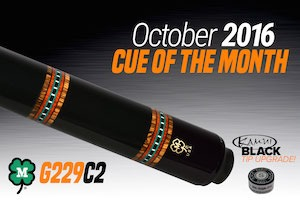 McDermott Cue Giveaway for October 2016