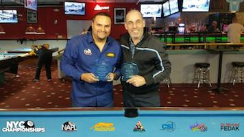 Champs at 3rd Annual NYC Singles 8-Ball Championships!