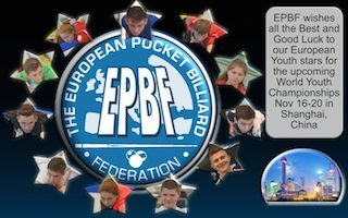 EPBF Junior Pool Team on Way to China