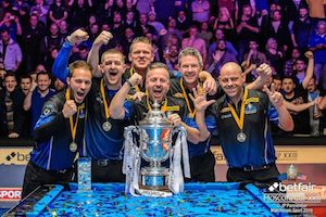 Europe Wins Pool's Betfair Mosconi Cup XXIII