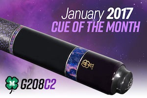 McDermott Cue of the Month Giveaway January 2017