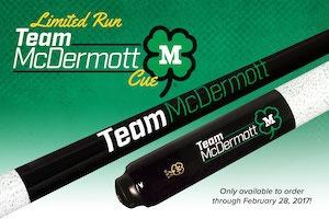 McDermott Releases Limited Run Team McDermott Cue