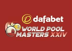 Field for Dafabet World Pool Masters