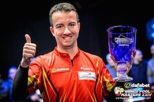 World Pool Masters – Alcaide is the Master!