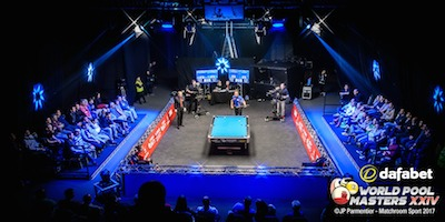 Shane on track for World Pool Masters No.3