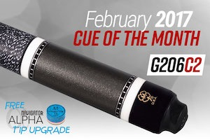McDermott Cue of the Month Giveaway for February