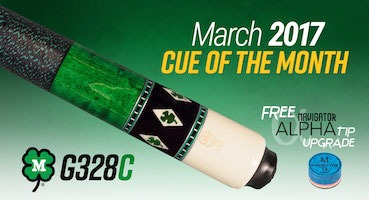 McDermott Cue of the Month Giveaway for March