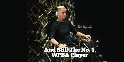 Line Kjorsvik Still #1 in WPBA Rankings!