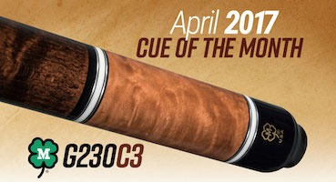 McDermott Cue of the Month Giveaway for April