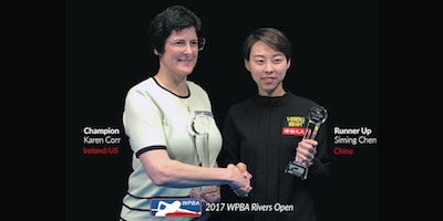 Corr Wins Pool's Rivers Casino Open