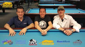 Predator Pro-Am Winners at Gotham, June 11